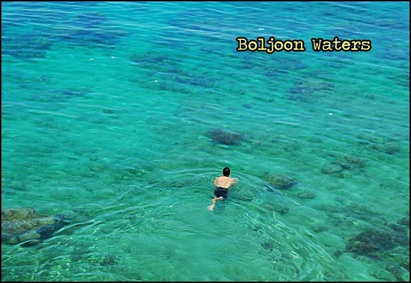 Swimming in Boljoon Waters