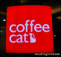 logo coffee cat