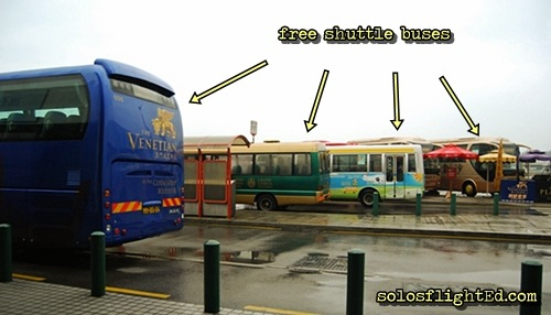 macau casino free shuttle bus