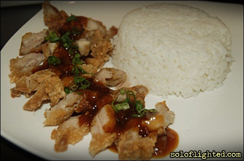red ribbon crispy chicken