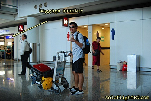 baggage counter airport