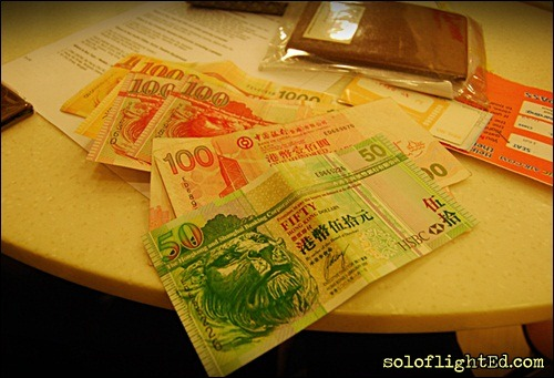hong kong dollars