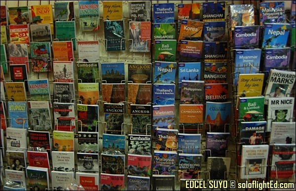 lonely planet books in cambodia