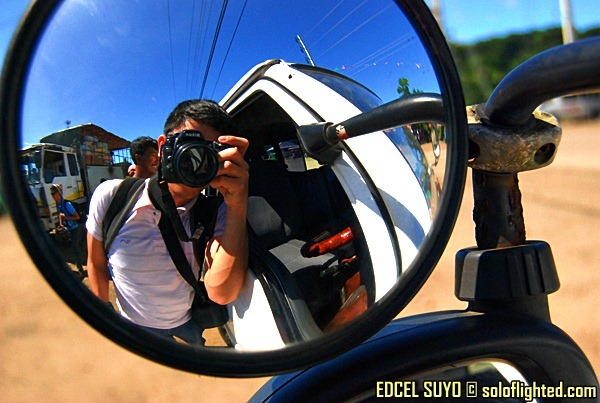 photo side mirror