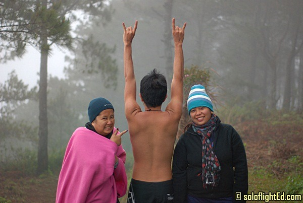 shirt off in sagada