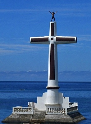 camiguin giant cross