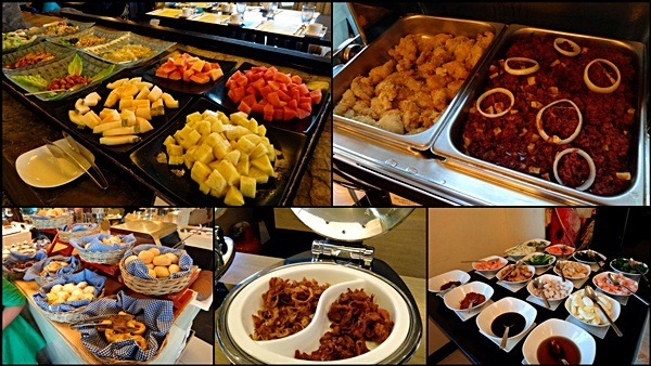 breakfast buffet hotel vida