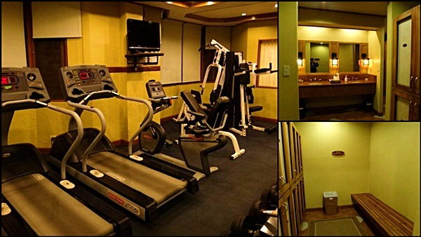 gym hotel manor