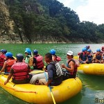White Water Rafting at Chico River in Kalinga