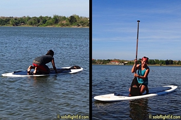 paoay lake paddleboard