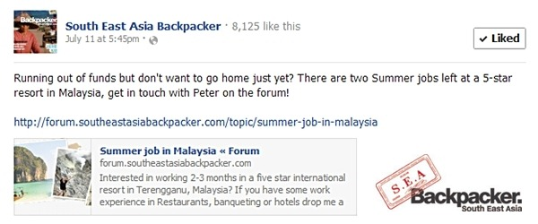 sea backpacker facebook