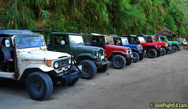 Off-Road 4×4 Adventure to Puning Hot Springs in Angeles, Pampanga