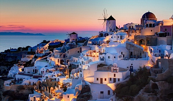 Dreaming about Santorini, Greece
