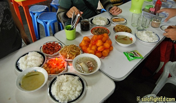 mantalongon food