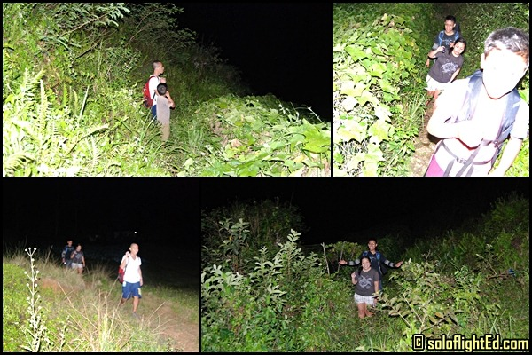 night trek in cebu osmena