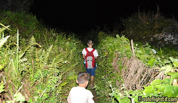 Osmeña Peak Cebu: Descending in the Dark Night