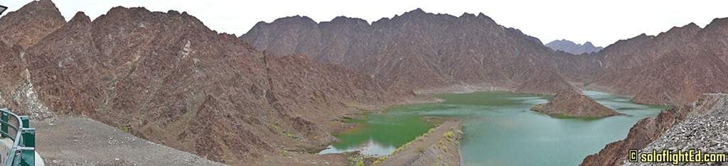 hatta mountain panorama