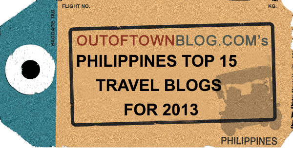Out of Town Blog's Top 15 Philippine Travel Blogs 2013