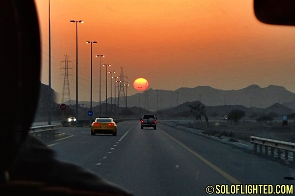 sharjah sunset to dubai