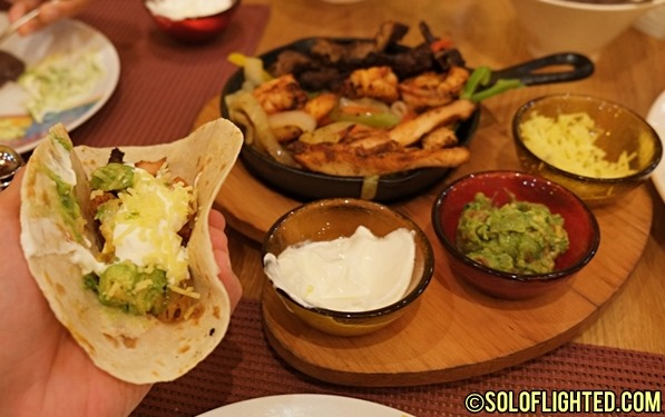 Mexican Food at Rosa Mexicano in Dubai Mall