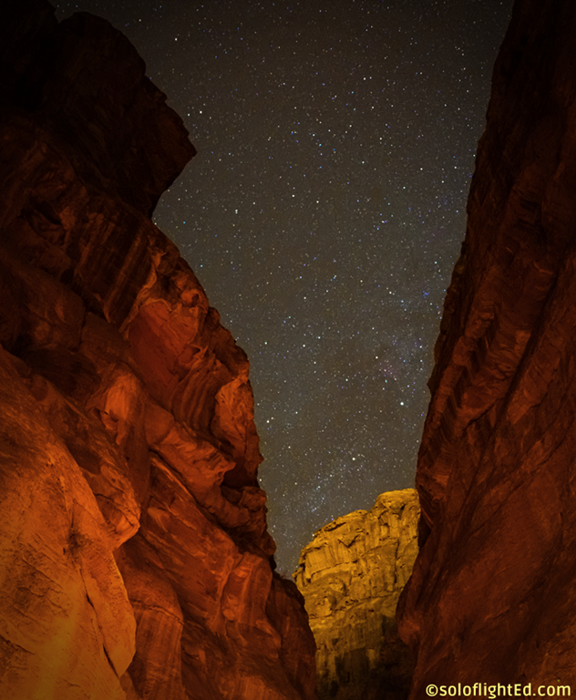 petra night stars