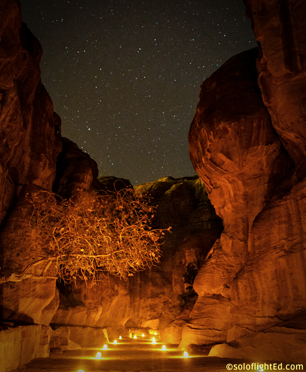 petra siq night