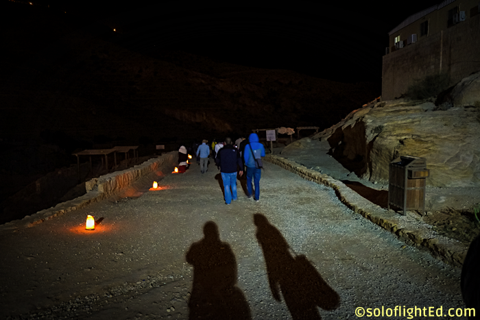 walk to the siq