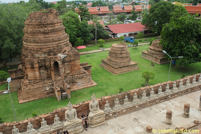 view-from-top-temple-ayuttaya